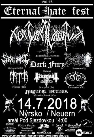 Eternal Hate Fest vol. 16